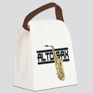 Alto Sax Canvas Lunch Bag