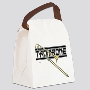 Trombone Canvas Lunch Bag
