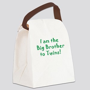 I am the Big Brother of Twins! Canvas Lunch Bag