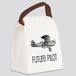 Future Pilot Canvas Lunch Bag