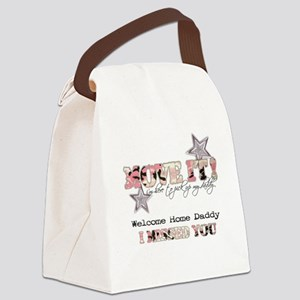 kristin Canvas Lunch Bag