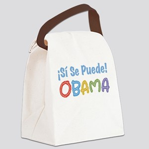 ¡Si Se Puede! Obama Canvas Lunch Bag