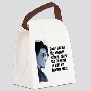 "Chekhov ""Don't Tell Me"" Canvas Lunch Bag"