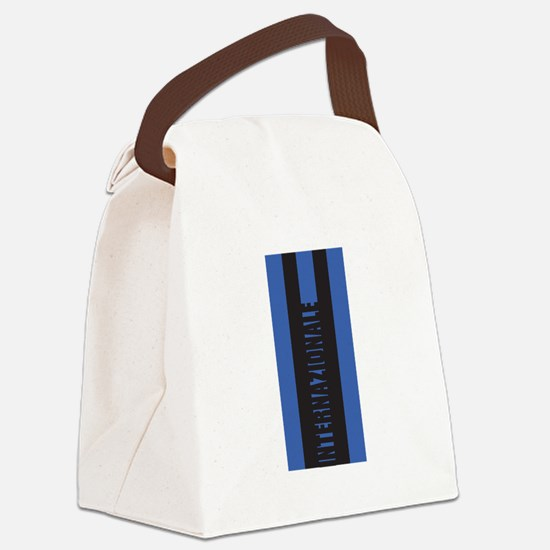 INTERNAZIONALE Canvas Lunch Bag