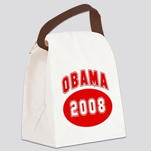 Obama 2008 (red) Canvas Lunch Bag