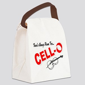 There's Always Room For Cello Canvas Lunch Bag