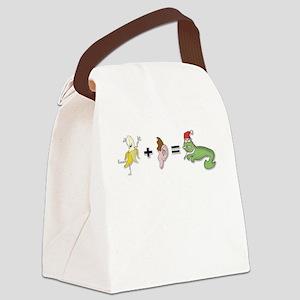Banana Plus Ear Canvas Lunch Bag