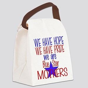 BLUE STAR MOTHERS Canvas Lunch Bag