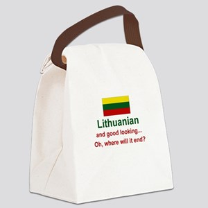 Good Looking Lithuanian Canvas Lunch Bag