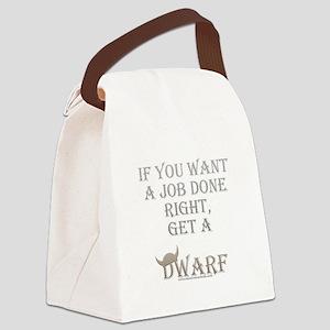 Dwarven Job Canvas Lunch Bag