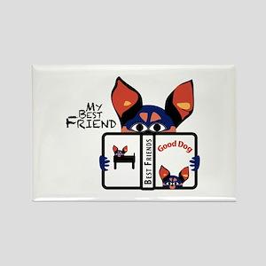 Best Friend Rectangle Magnet (10 pack)