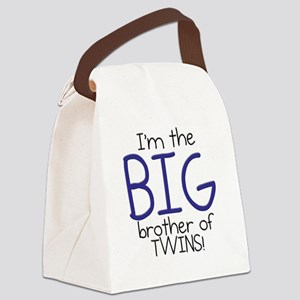 Big Brother (Twins) Canvas Lunch Bag