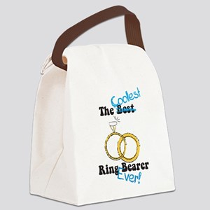 The Coolest Ring Bearer Canvas Lunch Bag