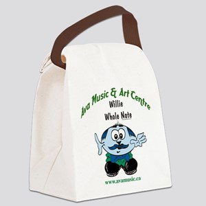 Ava Music Willie Canvas Lunch Bag