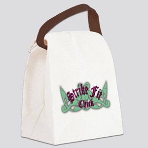 Strike-Fit Chick Canvas Lunch Bag