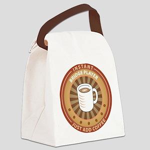 Instant Bridge Player Canvas Lunch Bag
