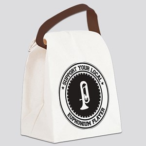 Support Euphonium Player Canvas Lunch Bag