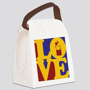 Microbiology Love Canvas Lunch Bag