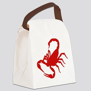 scorpion Canvas Lunch Bag