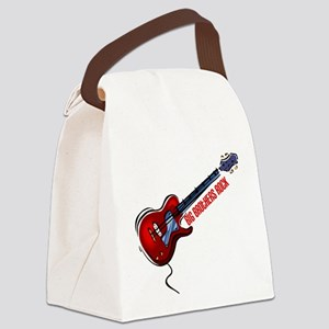 Big Brothers Rock (Red) Canvas Lunch Bag
