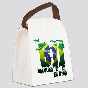 BBJ - Brazilian Jiu Jitsu Canvas Lunch Bag