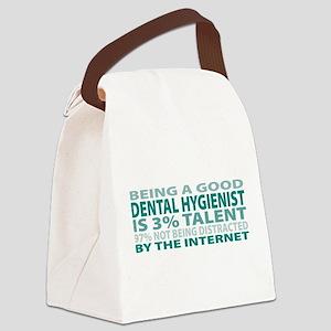 Good Dental Hygienist Canvas Lunch Bag