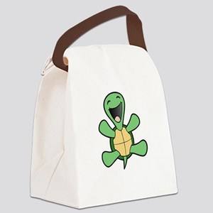 Skuzzo Happy Turtle Canvas Lunch Bag