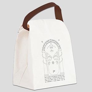 Moria Entrance Canvas Lunch Bag