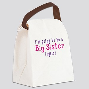 I'm Going To Be A Big Sister Canvas Lunch Bag