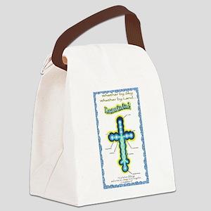 Laminin Link Canvas Lunch Bag