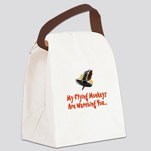 flying monkeys Canvas Lunch Bag