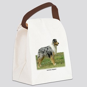 Australian Shepherd 9K7D-20 Canvas Lunch Bag