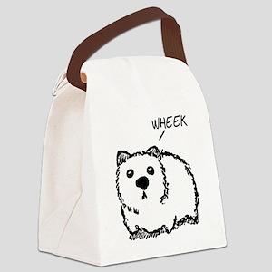 """""""Wheek"""" Canvas Lunch Bag"""
