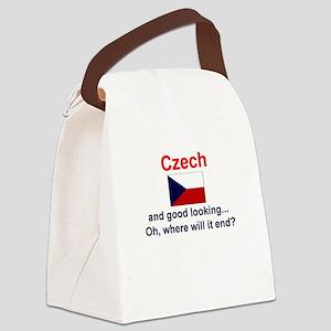 Good Looking Czech Canvas Lunch Bag