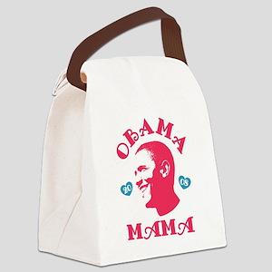 Obama Mama Canvas Lunch Bag