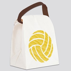 scribble ball Canvas Lunch Bag