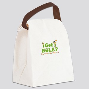 Got Hula? Canvas Lunch Bag