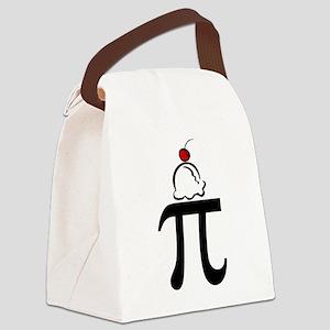 Pi a la Mode Canvas Lunch Bag