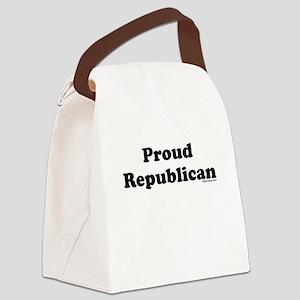 Proud Republican Canvas Lunch Bag