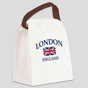 London Canvas Lunch Bag
