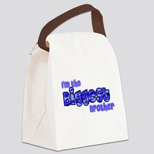 I'm The Biggest Brother Canvas Lunch Bag