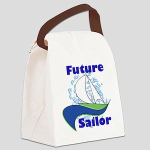 Future Sailor Canvas Lunch Bag