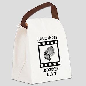 Accordion Stunts Canvas Lunch Bag
