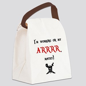 ARRRR Canvas Lunch Bag