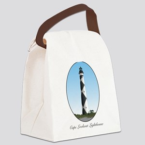 Cape Lookout Lighthouse Canvas Lunch Bag