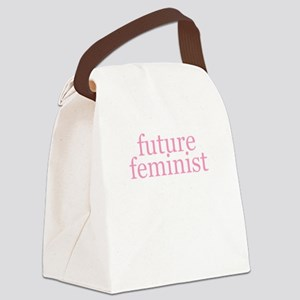 Future Feminist Canvas Lunch Bag