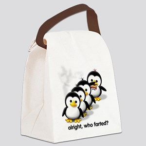 """""""Who Farted?"""" Canvas Lunch Bag"""