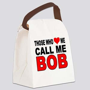 LOVE BOB Canvas Lunch Bag