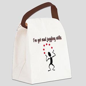 Mad Juggler Canvas Lunch Bag