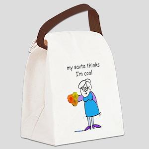 Savta Canvas Lunch Bag